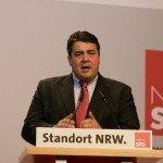 Vice-kanselier Gabriel (SPD): eindelijk investeren in zwak Ruhrgebied