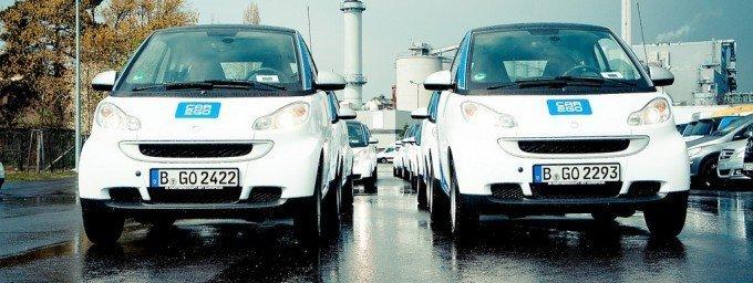 Daimler heeft met Car2Go een concept dat ook buiten Duitsland wordt gebruikt. Foto: Gerrit Quast (Flickr, CC)