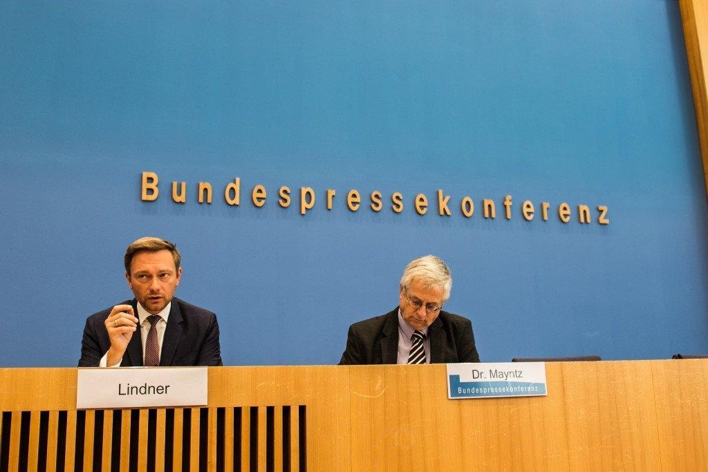 FDP-leider Christian Lindner. Foto: Pieter Heijboer/Duitslandnieuws