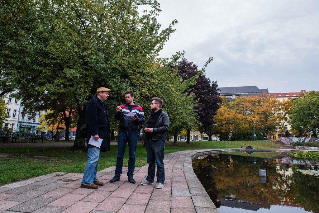 Roy van Veen, Derk Marseille en Bertus Bouwman. Foto: Pieter Heijboer