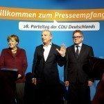 CDU-partijcongres in Karlsruhe: Er op of eronder voor Angela Merkel