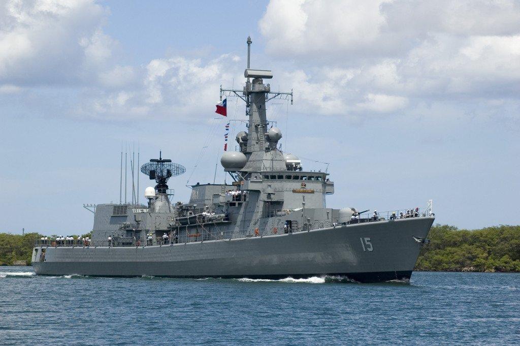 Een oorlogsschip van de Nederlandse rederij Damen. (Foto: Wikimedia/DanMS).