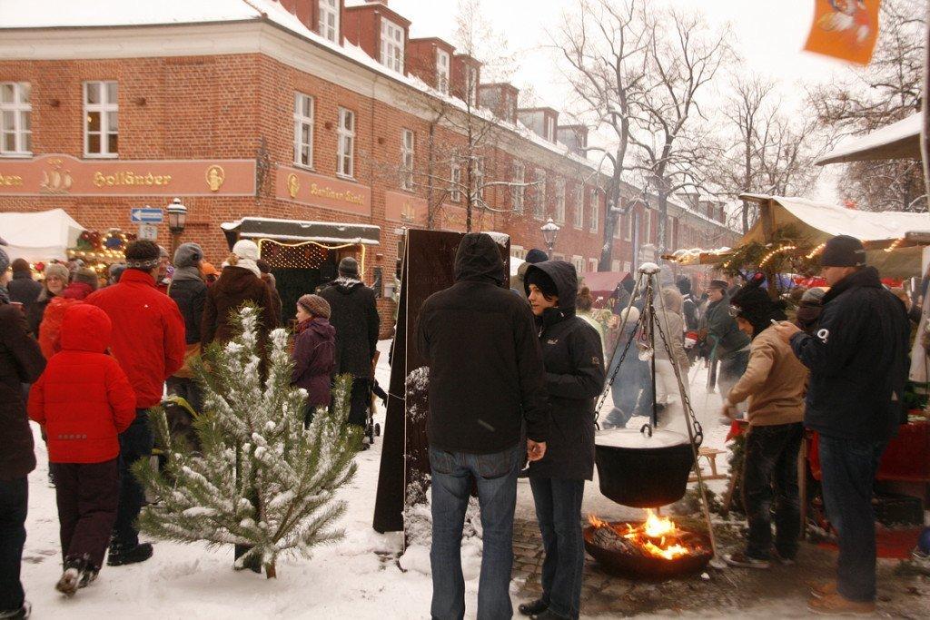 Geen Sinterklaas, wel Nederlandse ambachten dit jaar in Potsdam. Foto: archief Hans Göbel.