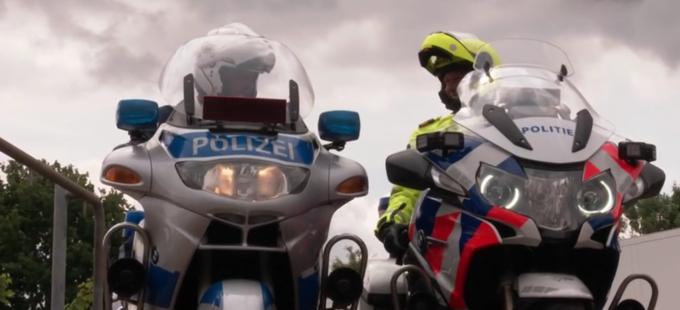 Politie Nederland en Duitsland