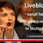 AfD-congres Stuttgart: rechts-populisten bepalen koers