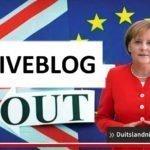 Liveblog #Brexit: Statement Angela Merkel: Brexit splijt Europa