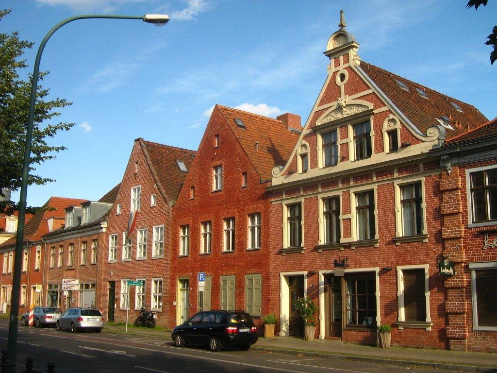 Het Hollandische Viertel in Berlijn wordt door producenten regelmatig als vervangende filmlocatie voor Nederland gebruikt. Foto: Botaurus