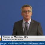 LIVEBLOG: aankondigingsvideo dader Ansbach bevestigt islamitisch motief