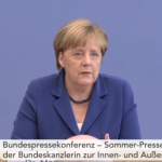 Merkel blijft bij 'wir schaffen das'