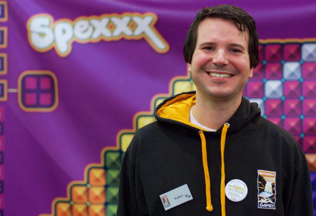 Ruben Dijkstra ontwierp Spexxx. Foto: Roy van Veen