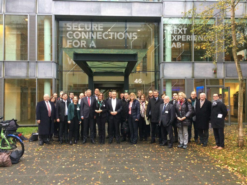 De delegatie uit Baden-Württemberg. Foto: Job Janssen