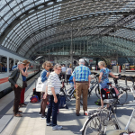 Fiets mee op de digitale bagagedrager door Berlijn