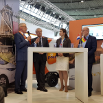 EVS30: Duits Nederlands ecosysteem voor emobility moet wereldstandaard worden