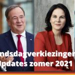 Bondsdagverkiezingen 2021 zomerupdates